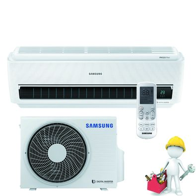 SAMSUNG AR9600 Wind-Free ULTRA AR09NXCXAWKNEU/XEU s montážou